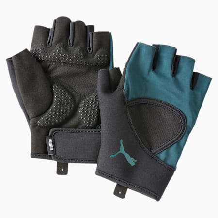 Essential PWRcool Training Fingered Gloves, Ponderosa Pine, small-IND