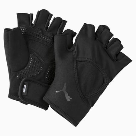 Essential PWRcool Training Fingered Gloves, Puma Black, small-IND
