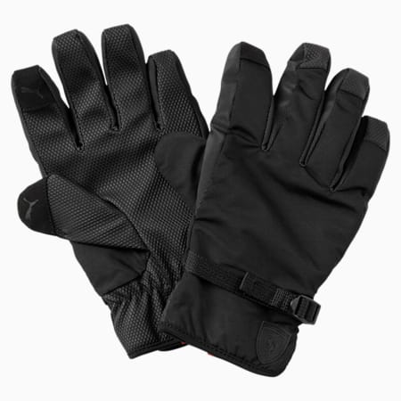 SF LS Gloves, Puma Black, small-IND
