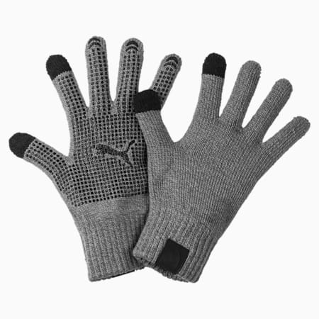Ferrari Lifestyle Knit Gloves, Smoked Pearl, small-IND