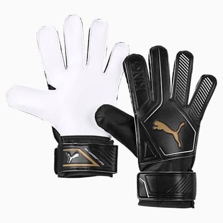 King 4 Goalkeeper Gloves, Puma Black-Gold-Puma White, small
