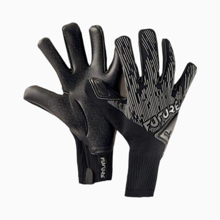 FUTURE Grip 5.1 Hybrid Goalkeeper Gloves, Puma Black-Asphalt-White, small