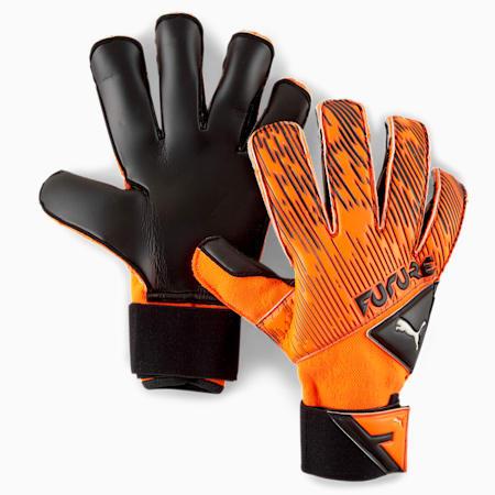 フューチャー グリップ 2 SGC サッカー ゴールキーパーグローブ, Shocking Orange-Black-White, small-JPN