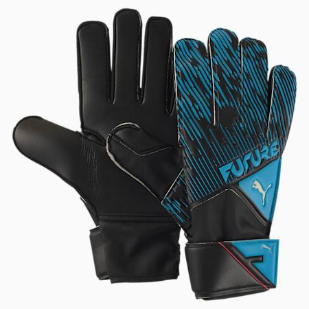 フューチャー グリップ 4 RC サッカー ゴールキーパーグローブ, Luminous Blue-Black-Pink, small-JPN