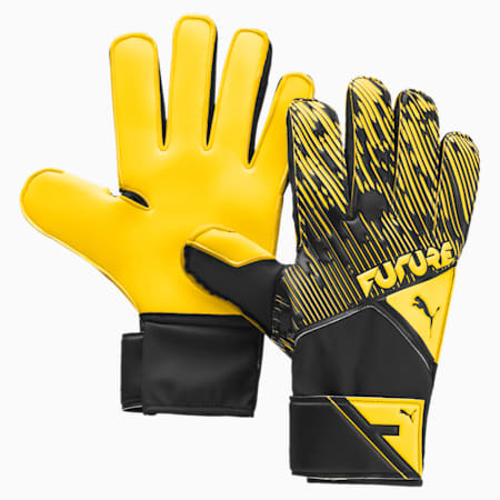 FUTURE Grip 5.4 Goalkeeper Gloves, ULTRA YELLOW-Black-White, small