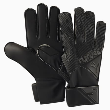 フューチャー グリップ 4 RC サッカー ゴールキーパーグローブ, Puma Black-Asphalt-White, small-JPN