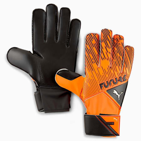 FUTURE Grip 5.4 Goalkeeper Gloves, Shocking Orange-Black-White, small