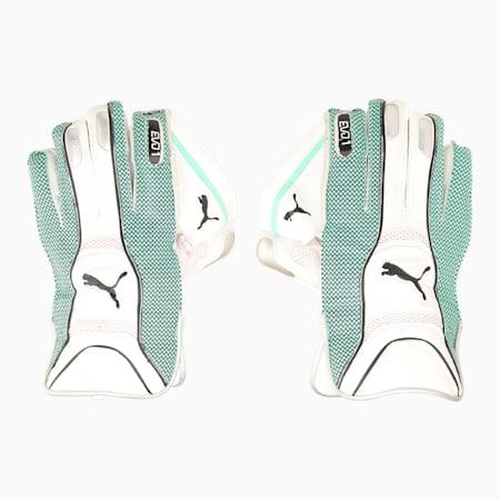 EVO 1 Unisex Wicket Keeper Glove, Green Glimmer, small-IND