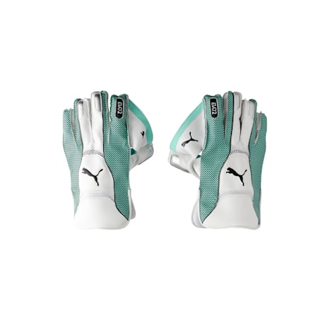 EVO 2 Wicket Keeper glove, Green Glimmer, small-IND