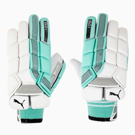 EVO 1 Batting glove, Green Glimmer, small-IND