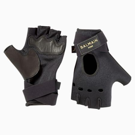 PUMA x BALMAIN フィンガーレス グローブ, Puma Black, small-JPN