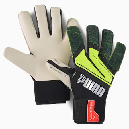 PUMA ULTRA Grip 1 Hybrid Pro Torwarthandschuhe, Puma Black-Yellow Alert, small