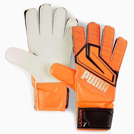 ULTRA Grip 4 RC Goalkeeper Gloves, Shocking Orange-White-Black, small