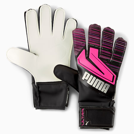 ULTRA Grip 4 RC Torwarthandschuhe, Luminous Pink-Puma Black, small