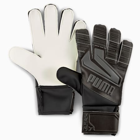 ULTRA Grip 4 RC Goalkeeper Gloves, Puma Black-Asphalt, small