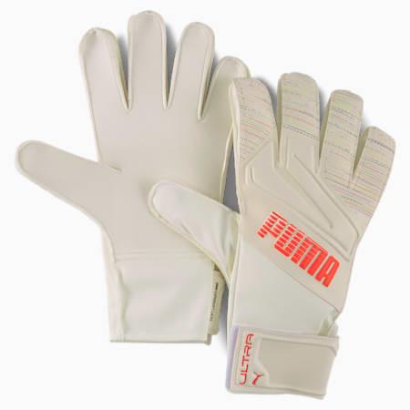 ULTRA Grip 4 RC Goalkeeper Gloves, Red Blast-Puma White, small
