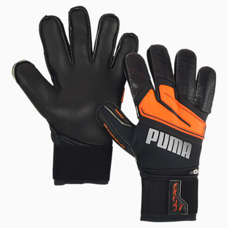ULTRA Protect 1 RC Goalkeeper Gloves, Shocking Orange-White-Black, small