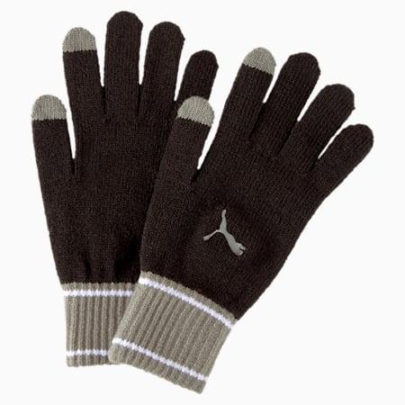 Strickhandschuhe, Puma Black-Ultra Gray, small