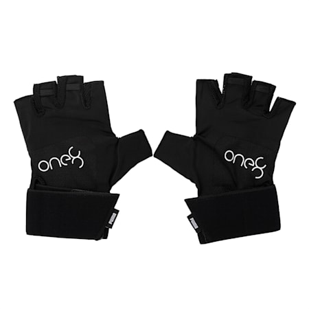 PUMA x one8 Premium Gloves, Puma Black, small-IND