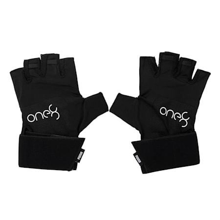 PUMA x one8 Premium Unisex Gloves, Puma Black, small-IND