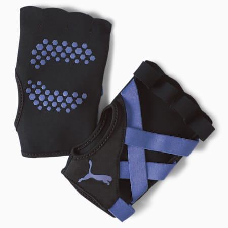 Studio Unisex Training Gloves, Elektro Blue, small-IND