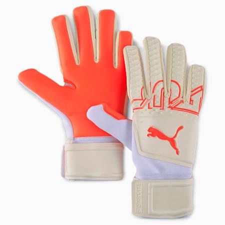 FUTURE Z Grip 3 Negative Cut Goalkeeper Gloves, Puma White-Red Blast, small