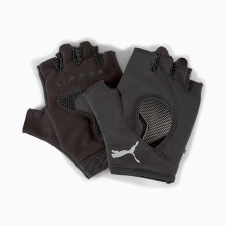 Gym Women's Training Gloves, Puma Black, small-SEA