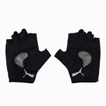 Training Women's Gym Gloves, Puma Black, small-IND