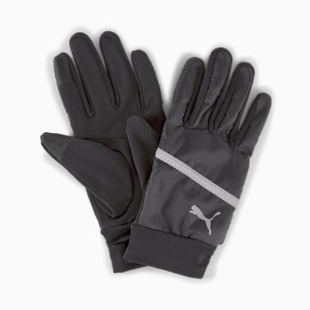 Guantes para correr para invierno, Puma Black, pequeño