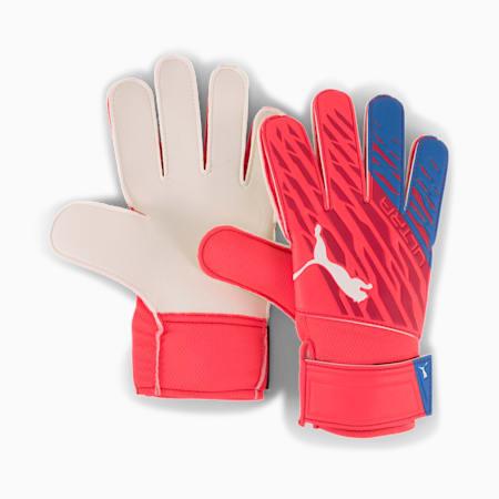 ULTRA Grip 4 RC Goalkeeper Gloves, Sunblaze-Puma White-Bluemazing, small