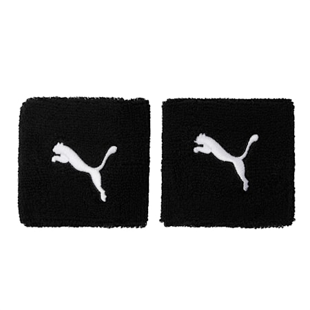 Knitted Cat Wristband, black-white, small-IND