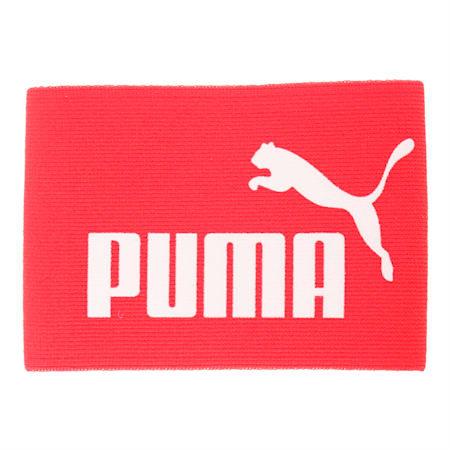 キャプテンズ アームバンド J, puma red-white, small-JPN