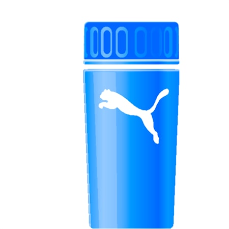 Sport Water Bottle 0.5L, new navy-semi-transparent, small-IND