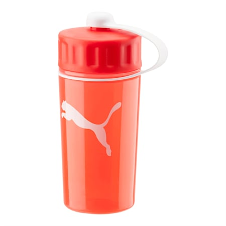 Sport Water Bottle 0.5L, puma red-semi-transparent, small-IND