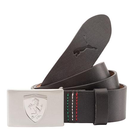 Ferrari LS Leather Belt, black, small-IND