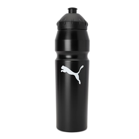 PUMA Water Bottle, black-white, small-IND