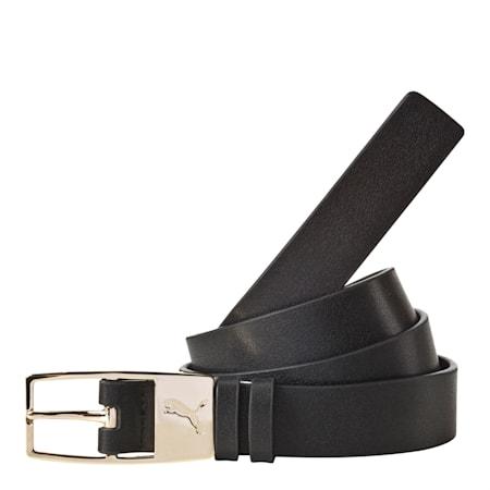 PUMA Female Belt PU, black-gold, small-IND