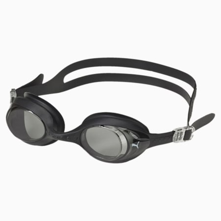 PUMA Swimming Goggle Regular, black-white, small-IND