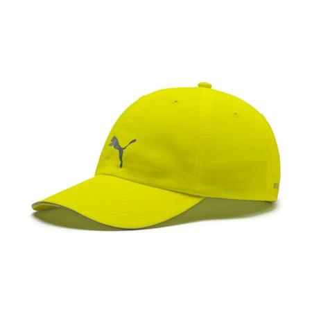 Unisex Running Cap III, Yellow Alert, small-IND