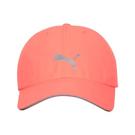 Unisex Running Cap III, Nrgy Peach, small-IND