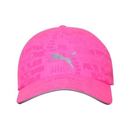 Unisex Running Cap III, Luminous Pink-AOP, small-IND