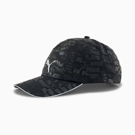 Running Cap III, Puma Black-AOP, small
