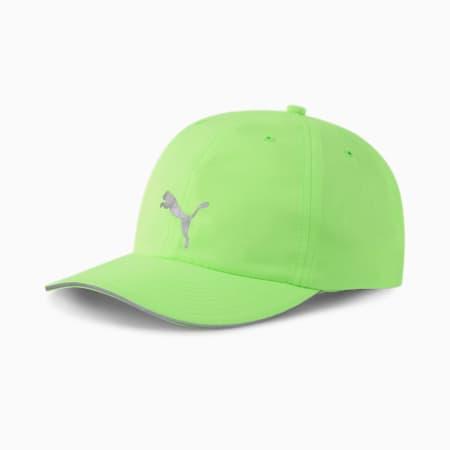 ユニセックス ランニング キャップ III, Green Glare, small-JPN