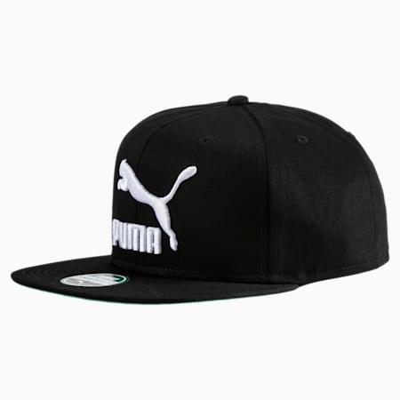 Lifestyle Colourblock Cap, Puma Black-Puma White-Solid, small