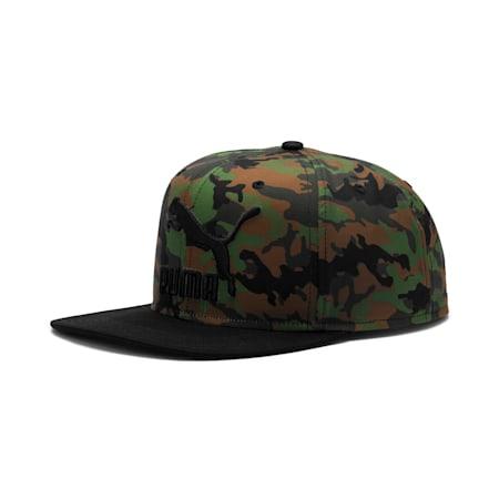 Lifestyle ColourBlock Cap, Garden Green-Dachsund-AOP, small-IND
