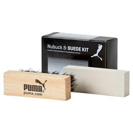 Nubuk- und Wildleder Set, black-white, small