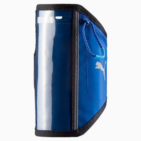 Running iPhone Arm Pocket, TRUE BLUE-Puma Black, small-IND