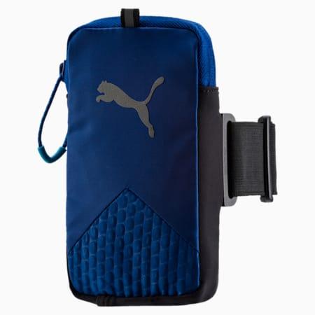 Running Arm Pocket, TRUE BLUE-Puma Black, small-IND
