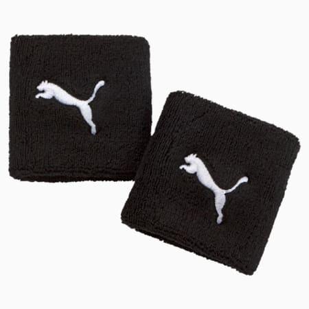 Training Wristbands, Puma Black-Puma White, small