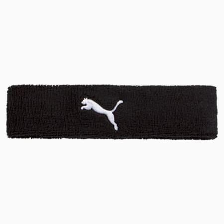 Training Headband, Puma Black-Puma White, small-SEA